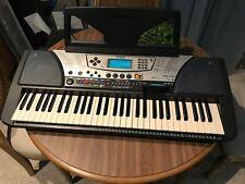Yamaha PSR-340 Electronic 61-Key Keyboard piano w/pedal NR NICE!!