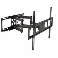 DUAL ARM SWIVEL LCD LED FULL MOTION TV WALL MOUNT 37 42 46 47 50 55 60 65 70