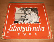 FILM KALENDER 1951   FOTOS