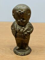 VINTAGE CAST IRON COIN BANK LONDON MIDDY BOY