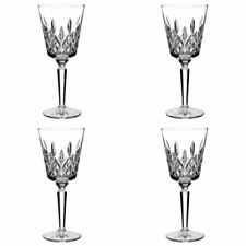 Waterford Crystal Lismore Tall Goblet 8 oz 4 Goblet Glasses New # 6133180200