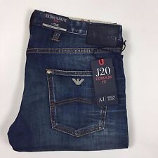 "Armani Jeans Extra Slim Blue Jeans W36"" L33"" *NEW WITH TAGS* RRP £195"