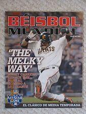 Beisbol Mundial Julio 2012 - Melky Cabrera cover issue