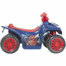 Dynacraft Spider-Man 6V Battery Powered Little Quad Kids Ride On NEW!