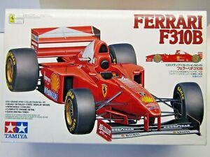 Tamiya 1:20 Scale Ferrari F310B Model Kit - New - # 20045 Schumacher / Irvine