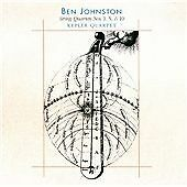 Ben JOHNSTON String Quartets 1,5 & 10 CD NEW WORLD Kepler Microtonal