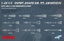 Meng 1:48 US Short Range Air-to-Air Missile Plastic Detail Set #SPS043