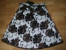 Knee-Length Floral 100% Cotton Skirts for Women