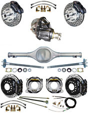 NEW SUSPENSION & WILWOOD BRAKE SET,CURRIE REAR END,POSI-TRAC GEAR,BOOSTER,646613