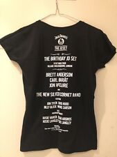 Rare Jack Daniels Birthday JD Set London T-Shirt 2009 Brett Anderson, Carl Barat