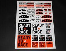 KTM Aufkleber Sticker Decal Bapperl Bomb Ready to Race DUKE Cross >Bogen < EXC