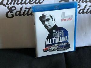 UN COLPO ALL'ITALIANA -blu ray-Edizione 40° anniversario-Michael Caine,N.Coward