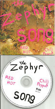 RED HOT CHILI PEPPERS Zephyr Song UNRELEASED SLEEVE Europe CD Single USA seller