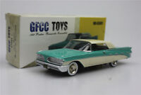 GFCC TOYS  1:43 1959 Pontiac Bonneville- Convertible Alloy Sports car green