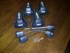 Thule 755 (now 757) foot pack including tensioners, end caps, locks & key