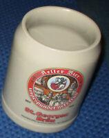 0,5 L Steingut Krug / Seidel / Beer Tankard - Sankt Georgen Bräu Kellerbier 2