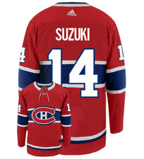 Мужские Монреаль Канадиенс Ник Suzuki домой Адидас красный плеер хоккейный свитер