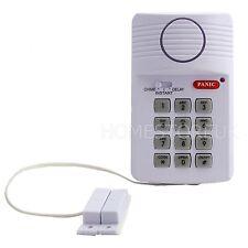 KEYPAD ALARM SECURITY SYSTEM DOOR WIRELESS WITH PANIC SHED GARAGE CARAVAN 41100