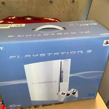 PS3 Ceramic White 40GB PLAYSTATION 3 Console Sony CECHH00 CW USED Japan FedEx [K