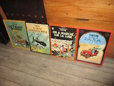 Vente Hergé-Lot cadres grands formats-Coke en stock-Lune-Rackham-7 boules..49 cm
