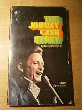 The Johnny Cash Story by George Carpozi, Jr. - 1970 Paperback - w/ B&W Photos