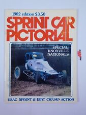 Sprint Car Pictorial 1982 Edition USAC Sprint Dirt Champ Review Yearbook