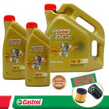6 LITRI OLIO MOTORE CASTROL EDGE M 5W30 BMW LONGLIFE 04 + FILTRO OLIO OMAGGIO