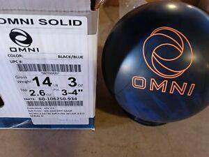 14lb Ebonite Omni Solid Bowling Ball NEW IN BOX!