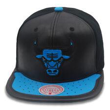 "Mitchell & Ness Chicago Bulls Snapback Hat ""Sneaker Hook"" Jordan 1 Black/Royal"