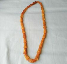 Amber necklace with beads Baltic amber of the USSR 28 garm.