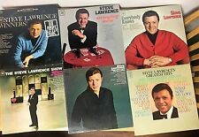 Steve Lawrence Lot of 10 LP Releases EX