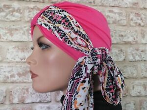 Jersey Hat Headwear  Turban and scarf for hair loss, Cancer, Chemo, Leukemia