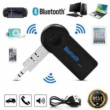 Wireless Receiver Bluetooth 3.5mm AUX Audio Stereo Music Car Adaptor with Mic UK