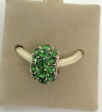 Chamilia Jewelry Splendor Green Swarovski Charm Bead