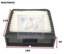WESFIL CABIN FILTER FOR Volvo V40 1.9L, 2.0L 1997-2004 WACF0043