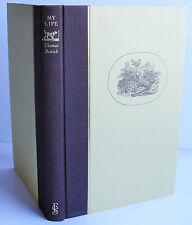 THOMAS BEWICK MY LIFE Folio Society 1981 NO BOX VGC illus Natural History artist