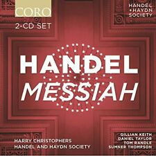 Handel / Handel & Haydn Society / Christophers - Messiah [New CD]