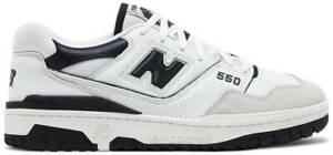 New Balance 550 Team Navy White Men's Sneakers BB550WA1 Sizes 7-9