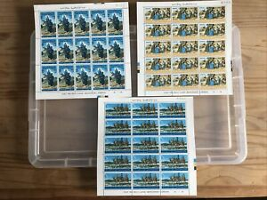 Jordan Stamps unchecked collection X 3 Mini-sheets