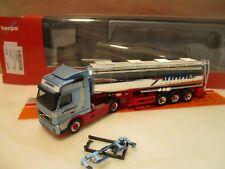 Herpa camión volvo fh4 flaquea//aerop ga-ksz stelzl 936804