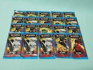 Lego® Ninjago™ Serie 6 Die Insel Trading Card 20 Booster / 100 Sammelkarten Neu