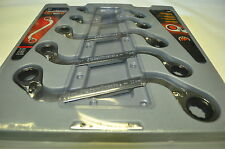 Danaher KD 85299 S-Shape Metric Reversible Double Box Ratchet Wrench 5pc 10-22mm