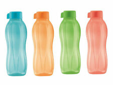 Tupperware H20 On The Go Eco Sports Water Drink Bottles 500ml Free Shipping.