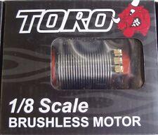 Toro X8 PRO Brushless Sensored 4-Pole Motor For 1/8 Buggy 2150KV