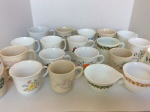 CORELLE CORNING Cups & Saucers CHOICE Various Patterns EUC to VGUC FREE SHIP!