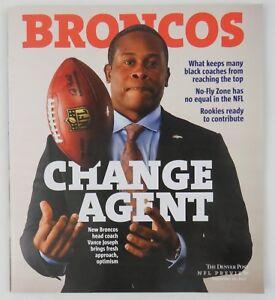 Denver Broncos Season Preview Denver Post Coach Vance Joseph Roster No-Fly Zone