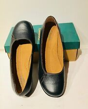Clarks Upper Leather Comfort Weomen  Active Air Shoes Size 10 W Navy was $130