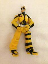 "Action Man ATOM Yellow Bee 5"" Action Figure Viacom 2012"
