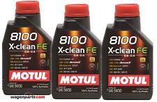 Aceite lubricante Motul 8100 Xclean FE 5W-30 C2 C3 dexos 2, 3 litros