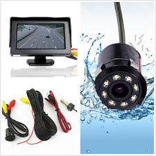 "4.3"" Car SUV Reverse Parking LCD Display Monitor Rearview IR Night Vision Camera"